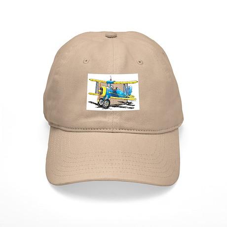 Blue Biplane Cap