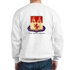Sweatshirt w/ 157th Crest Back