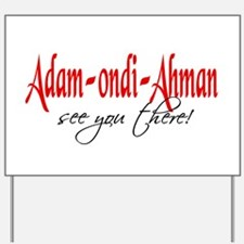 Adam-ondi-Ahman Yard Sign