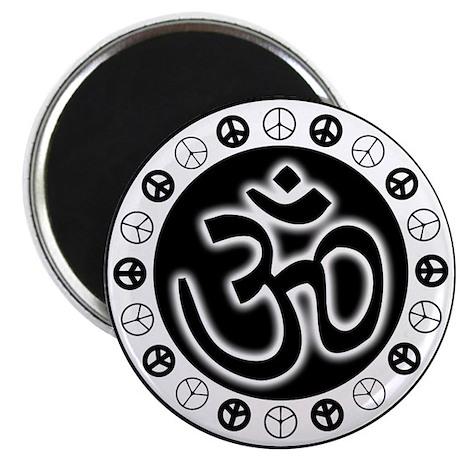 Om Aum Peace Magnet