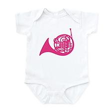 French Horn Silhouette Infant Bodysuit