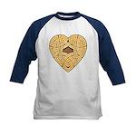 Chonoska Heartknot Kids Baseball Jersey