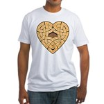 Chonoska Heartknot Fitted T-Shirt