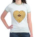 Chonoska Heartknot Jr. Ringer T-Shirt