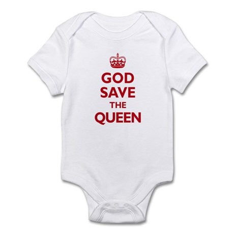 God Save the Queen Infant Bodysuit