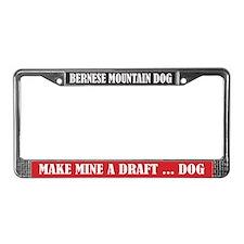 Draft License Plate Frame