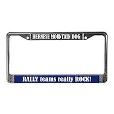 Rally License Plate Frame