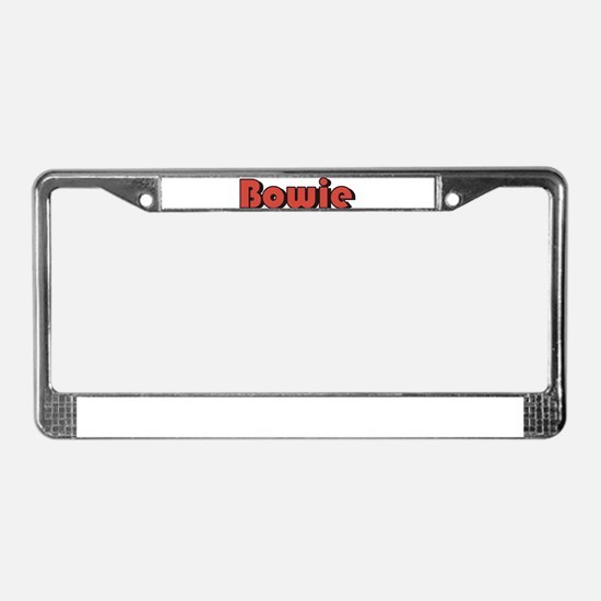 Bowie, Maryland License Plate Frame