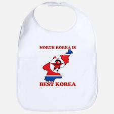 North Korea is Best Korea Bib