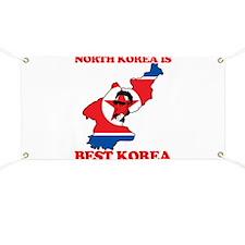 North Korea is Best Korea Banner