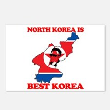 North Korea is Best Korea Postcards (Package of 8)