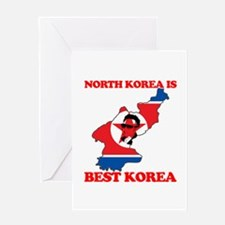 North Korea is Best Korea Greeting Card