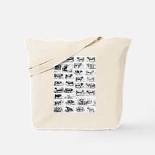 Cute Domestication Tote Bag