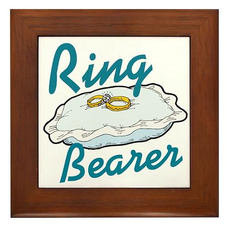Ring Bearers Framed Tile