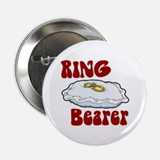 "Ring Bearer 2.25"" Button"