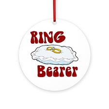 Ring Bearer Ornament (Round)
