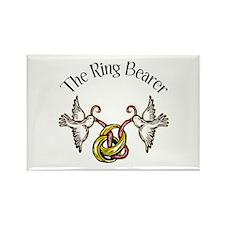 The Ring Bearer Rectangle Magnet