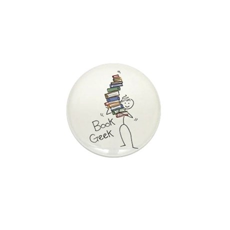 Library Chick Mini Button