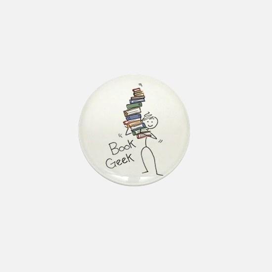 Library Chick Mini Button