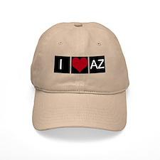 I Love AZ Baseball Cap
