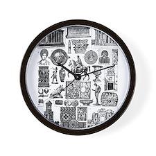Unique Augustus Wall Clock