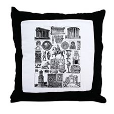 Unique Cesar Throw Pillow