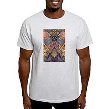 African Sculpture Ash Grey T-Shirt