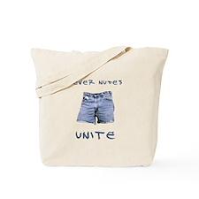 Never Nudes Unite Tote Bag
