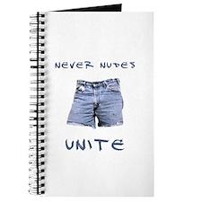 Never Nudes Unite Journal