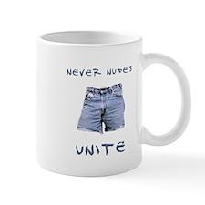 Never Nudes Unite Mug
