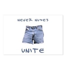 Never Nudes Unite Postcards (Package of 8)