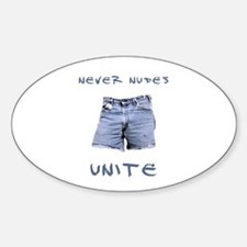 Never Nudes Unite Decal