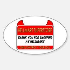 Hellmart Greeting Decal