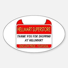 Hellmart Greeting Stickers