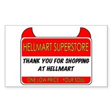 Hellmart Greeting Stickers