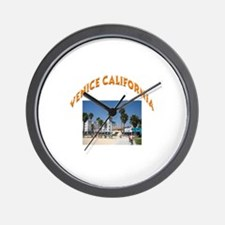 Venice California Wall Clock