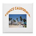 Venice California Tile Coaster