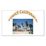 Venice California Sticker (Rectangle)