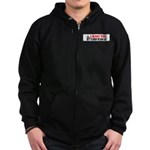 Throw The Bums Out Zip Hoodie (dark)