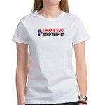 Throw The Bums Out Women's T-Shirt