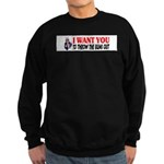 Throw The Bums Out Sweatshirt (dark)