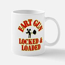 Fart Gun Locked & Loaded Mug