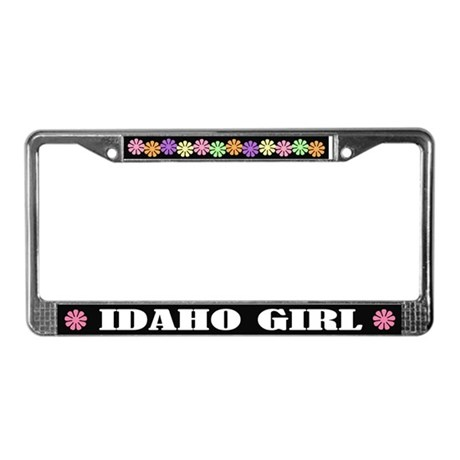 Idaho Girl License Plate Frame Gift