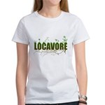 Locavore buy locally realfood Women's T-Shirt