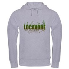 Locavore buy locally realfood Hoodie