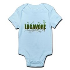 Locavore buy locally realfood Infant Bodysuit