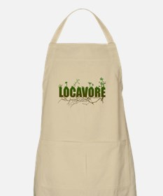 Locavore buy locally realfood Apron