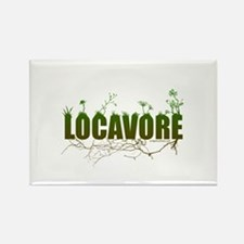 Locavore buy locally realfood Rectangle Magnet