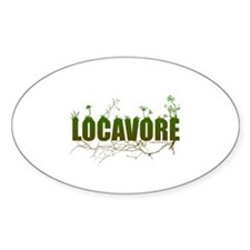 Locavore buy locally realfood Decal