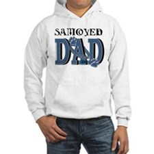Samoyed DAD Hoodie